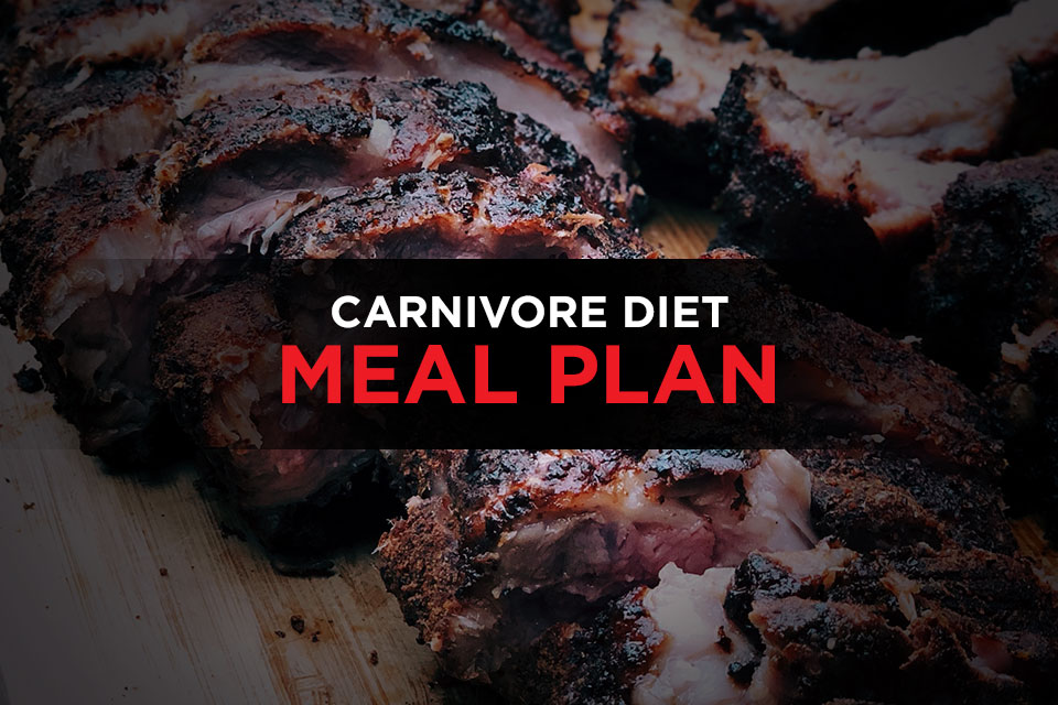 28-Day Carnivore Diet Meal Plan Menus, Recipes & Shopping Lists Featured Image