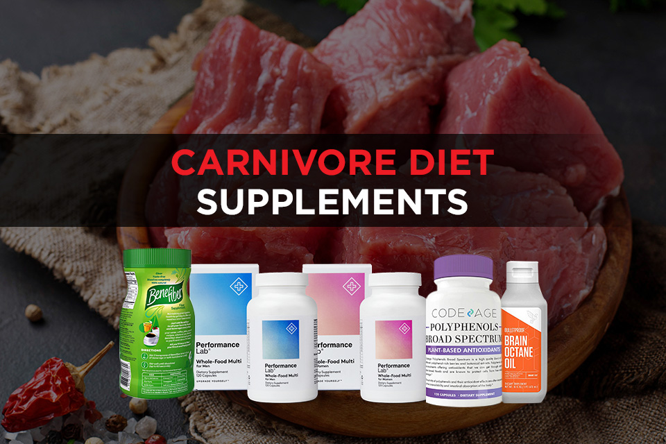 Carnivore Diet Supplements featured images