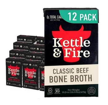 Beef Bone Broth by Kettle and Fire