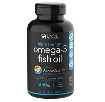 Omega-3 Wild Alaskan with traces of fish eggs