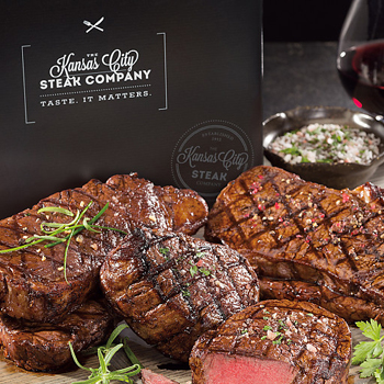 Kansas City Steak packaging