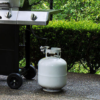 propane gas outdoors