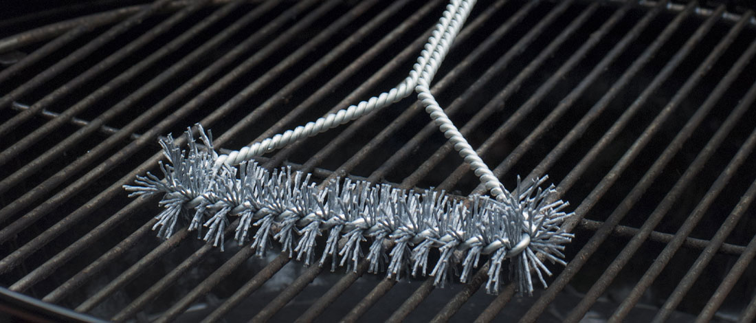 Grill Brush Cleaning