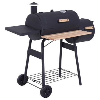 Outsunny bbq grill and offset smoker