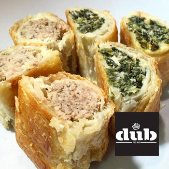 Dub meat pies delivery