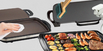How to Clean an Electric Griddle<br>4 Simple Methods