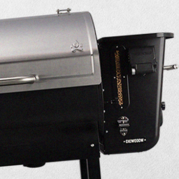 A Camp Chef brand grill