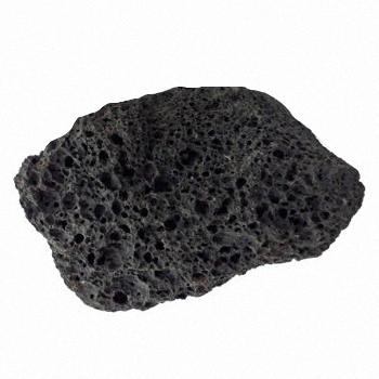A single piece of lava rock
