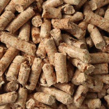 Close up image of pellets