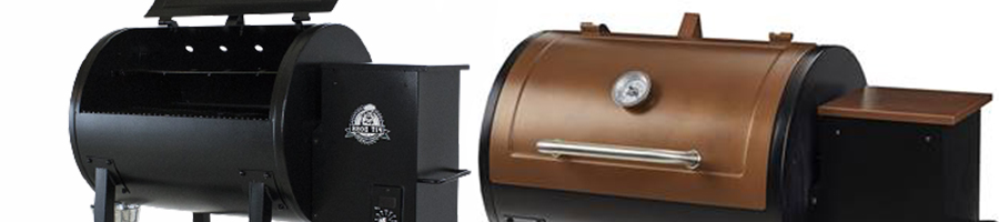Side by side comparison of Pit Boss 700fb vs Classic Pit Boss Grill