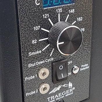 Temperature control/handle