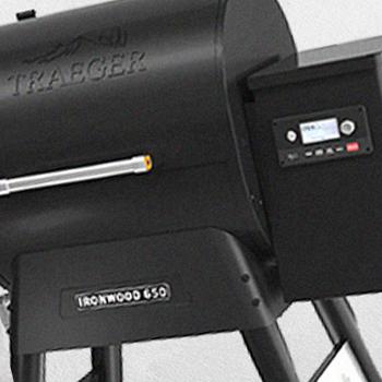 A Traeger Ironwood 650 brand